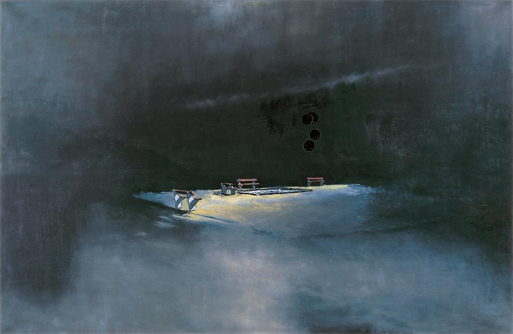Szűcs Attila: Játszótér éjjel, 1995
